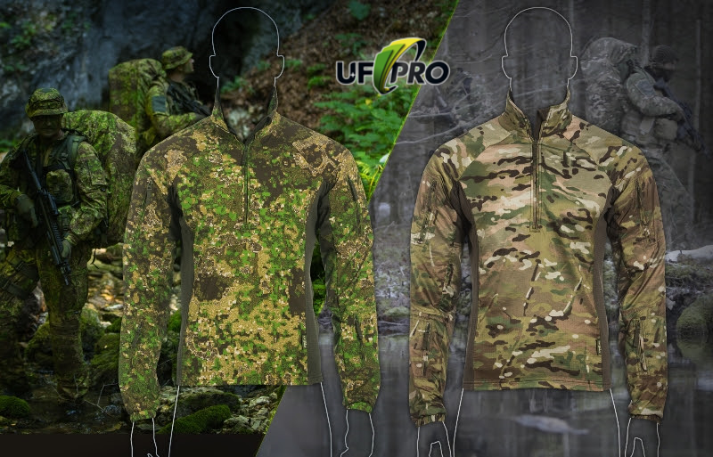 Der Combat-Sweater UFPro® Hunter in PenCott® GreenZone und MultiCam®
