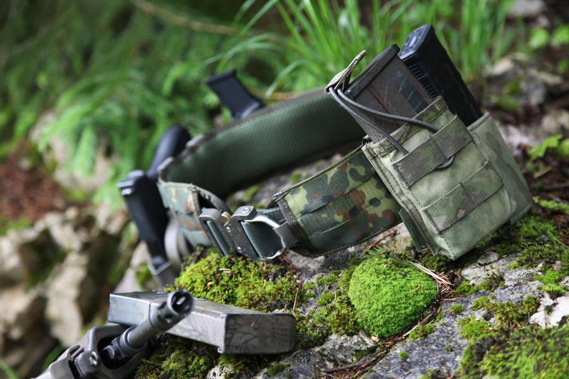"""Der taktische Dienstgürtel Jed Belt in Verbindung mit dem Battle Belt """"leicht"""" MD-Textil®"""