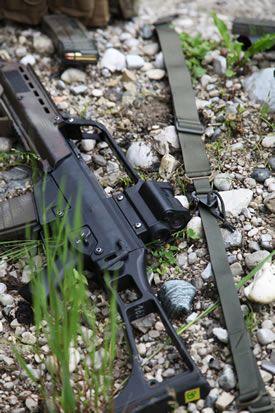 MD-Textil - Der Waffentrageriemen / Point Weapon Sling für den professionellen Einsatz