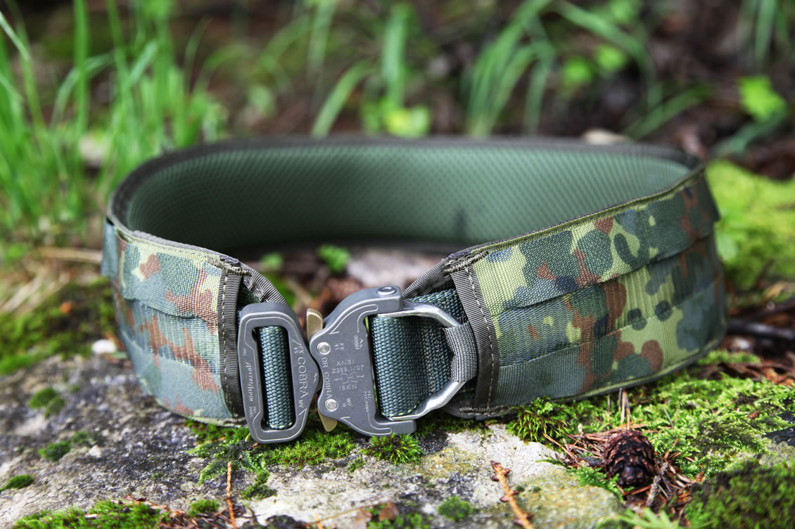 Das taktische Bundle aus dem Dienstgürtel Jed-Belt und dem Battle-Belt von MD-Textil®