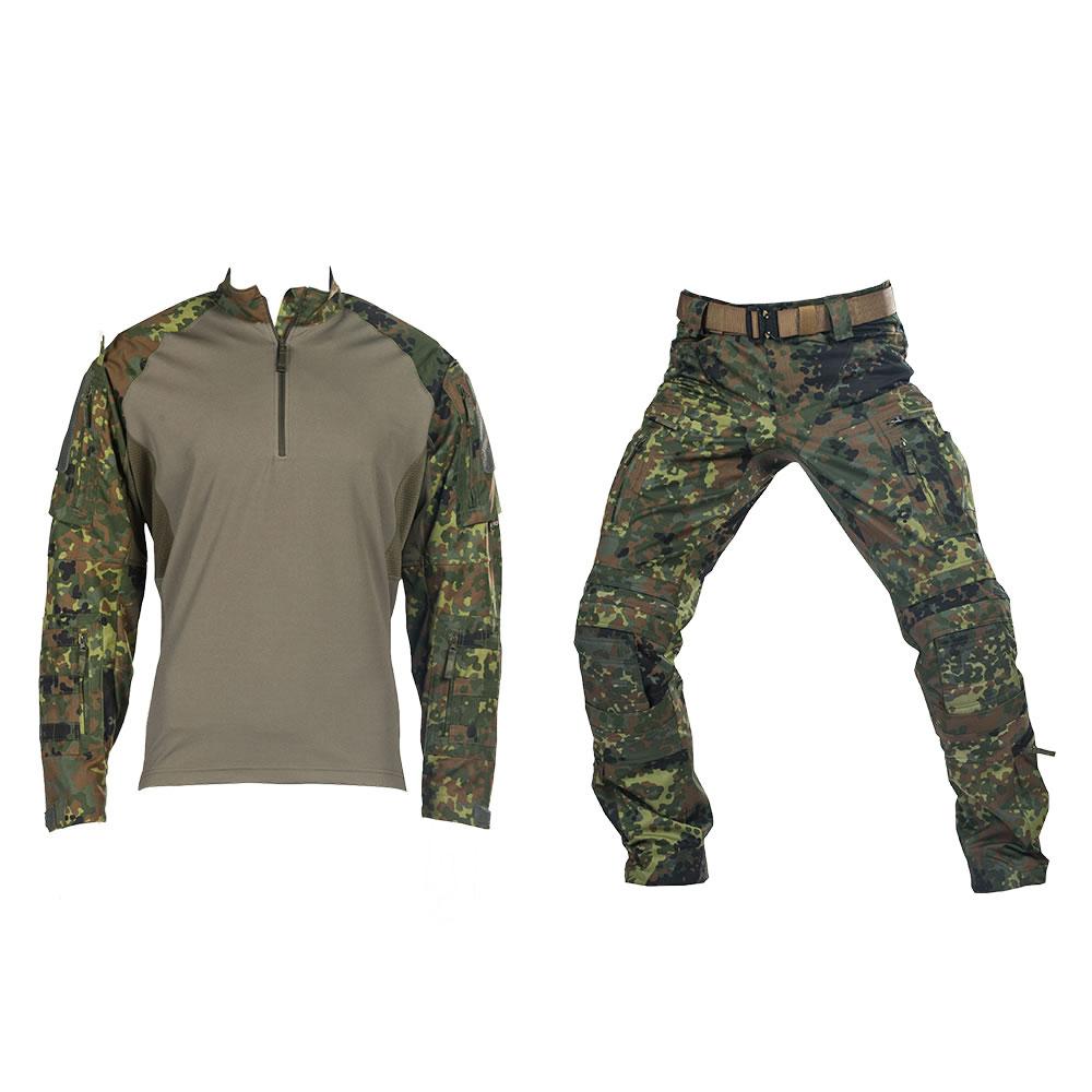 Das taktische Bundle UFPro® Striker XT Gen.2 Combat Shirt und der Striker XT Gen.2 Kampfhose in Flecktarn