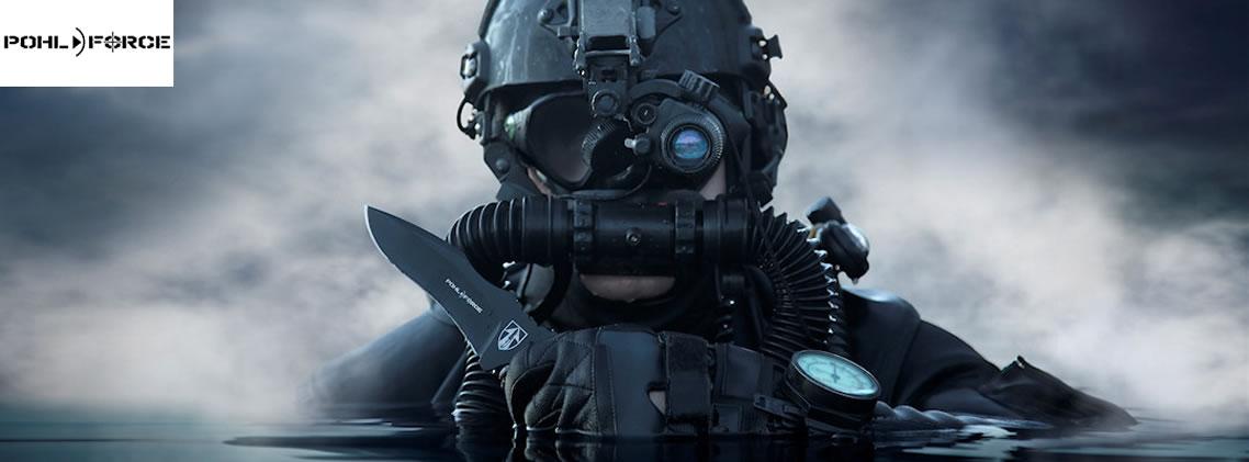 Messer von Pohl Force für Survival, Outdoor und taktischen Kampfeinsatz