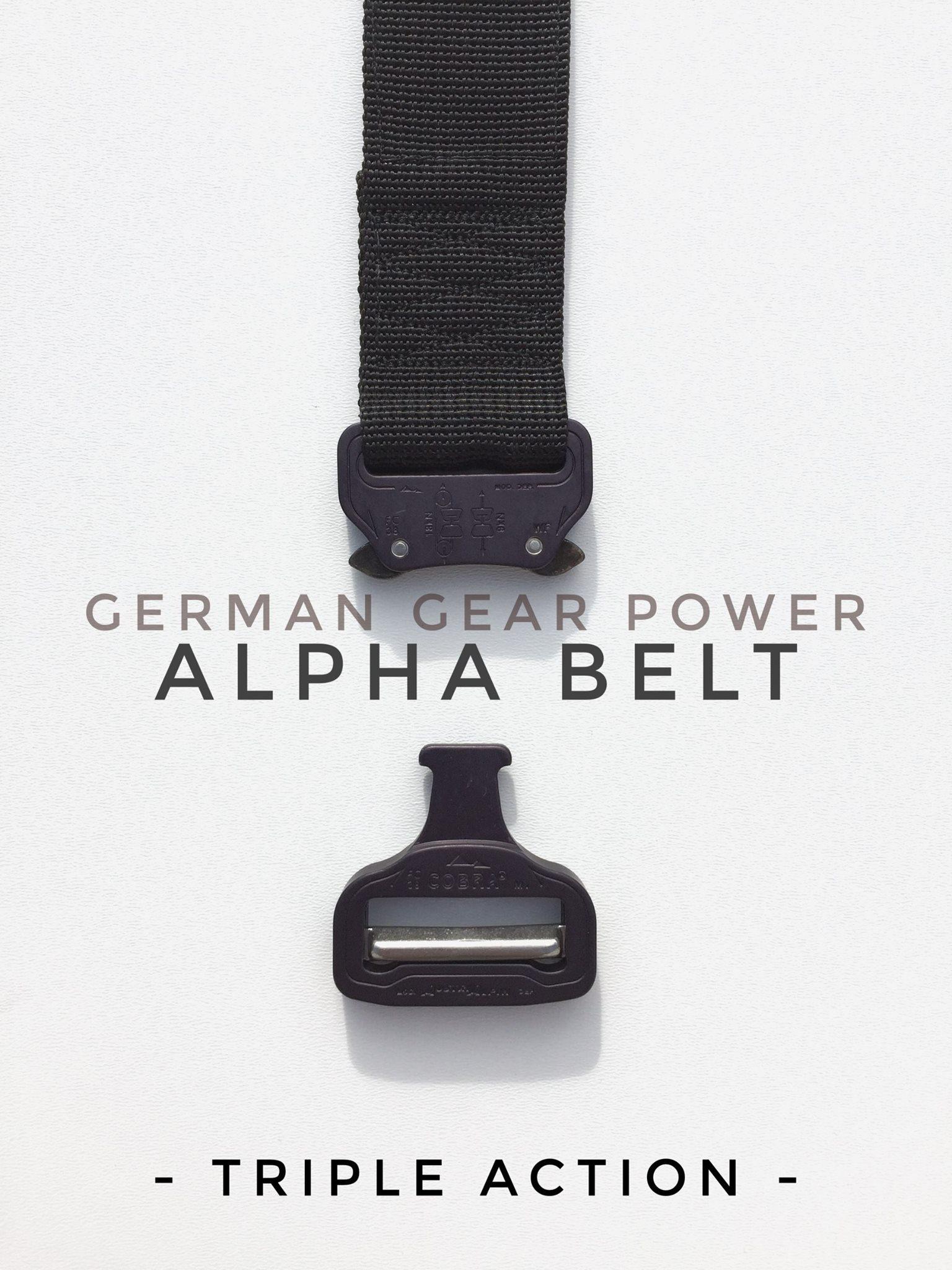 Dienstgürtel MD-Textil Alpha Belt