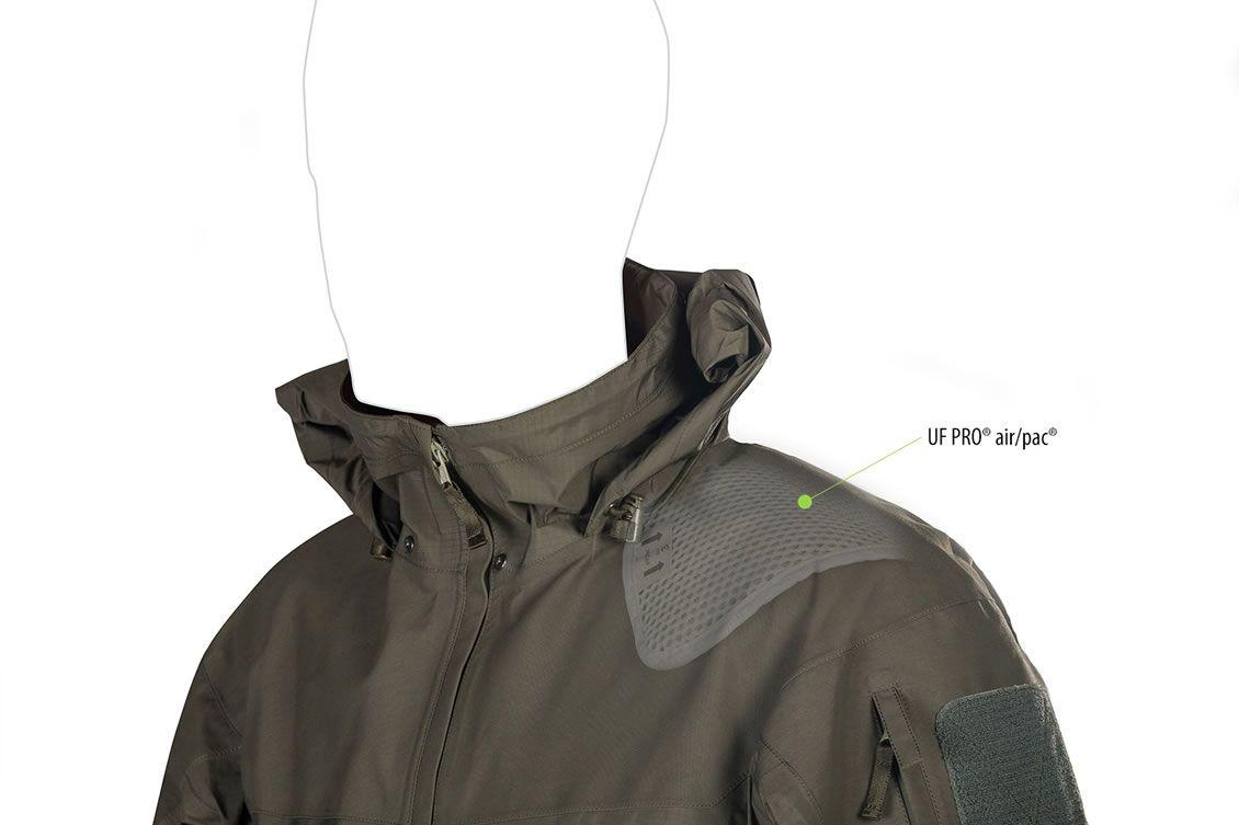 UF PRO Monsoon Rain Shirt - Komfortabel auch nach längerem tragen