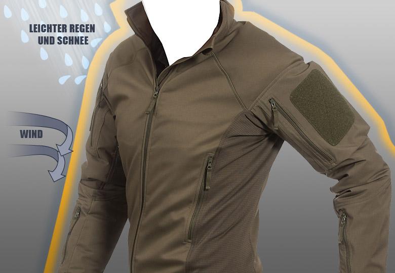 UF PRO® Delta AcE Plus - zuverlässiger Schutz vor Windchill. im taktischen Kampfeinsatz