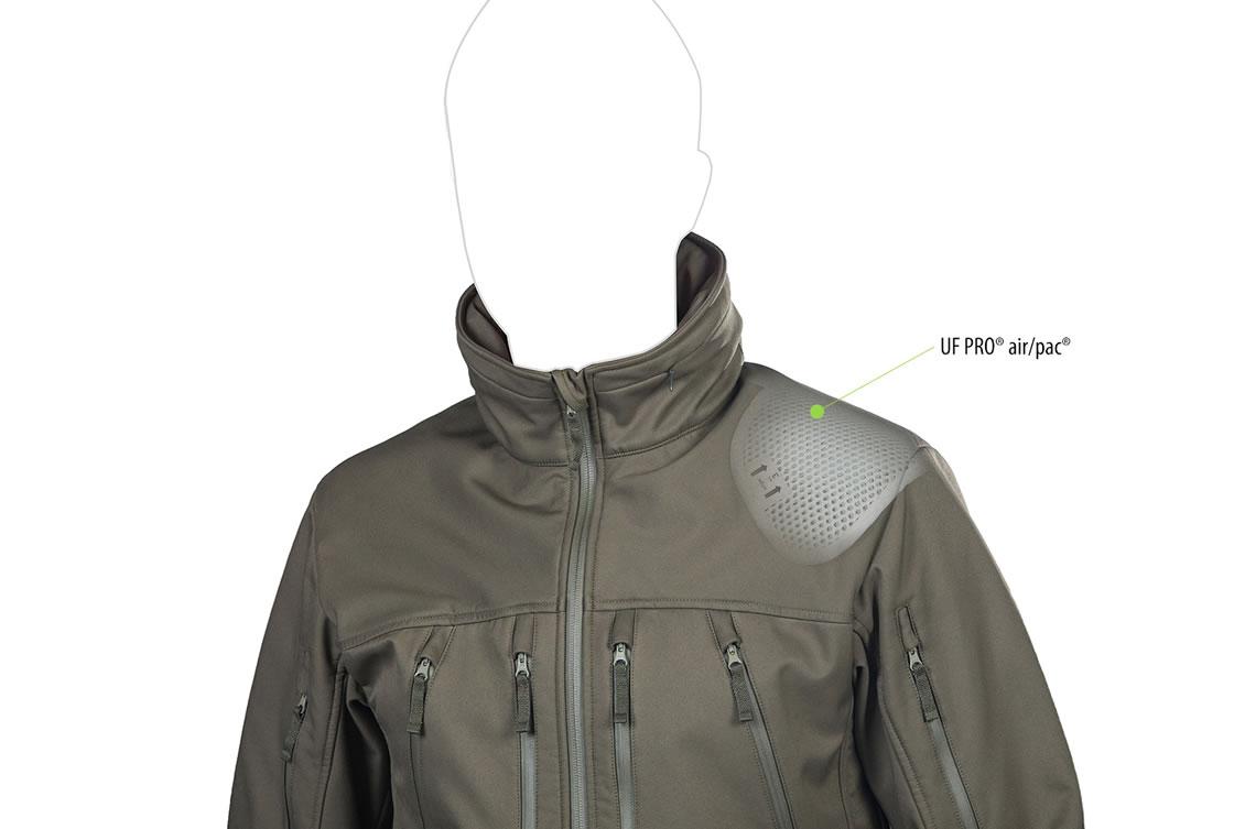 Die taktische Softshell Jacke UF PRO Delta Eagle-Jacke - Air Pac