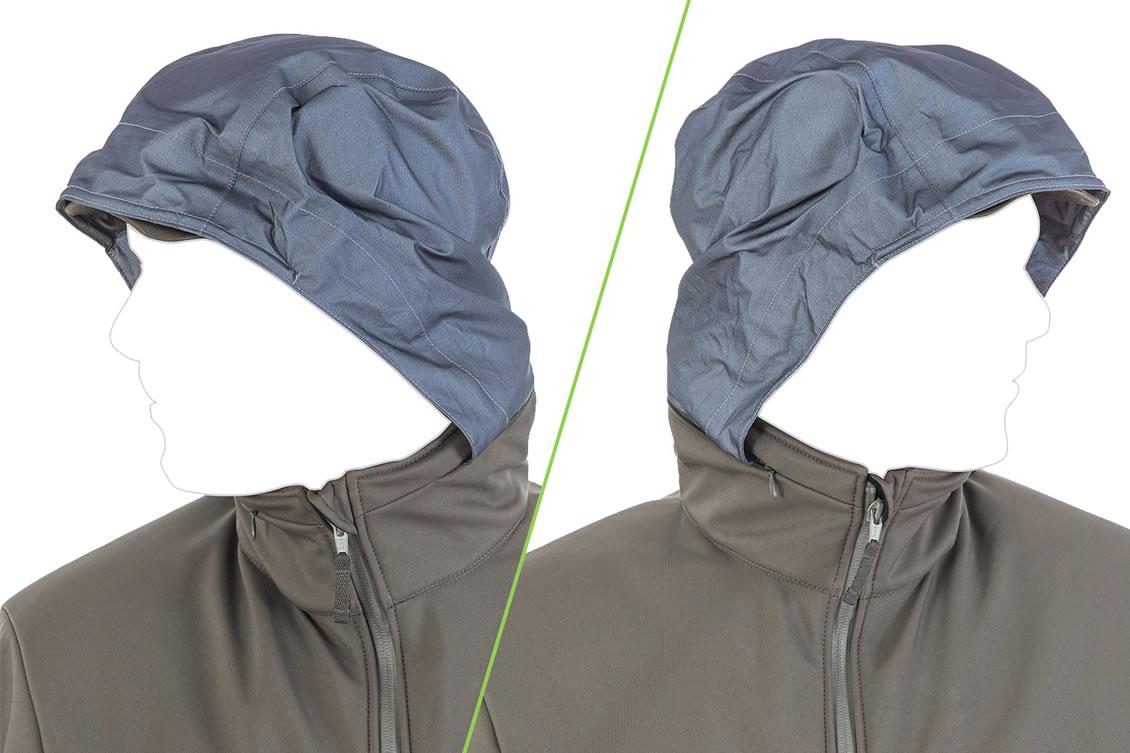 Die taktische Softshell Jacke UF PRO Delta Eagle-Jacke - HOOD/HARNESS SYSTEM