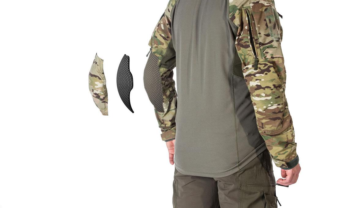 Ellbogenschutz für das taktische Combat Shrits UFPro® Striker XT Gen.2