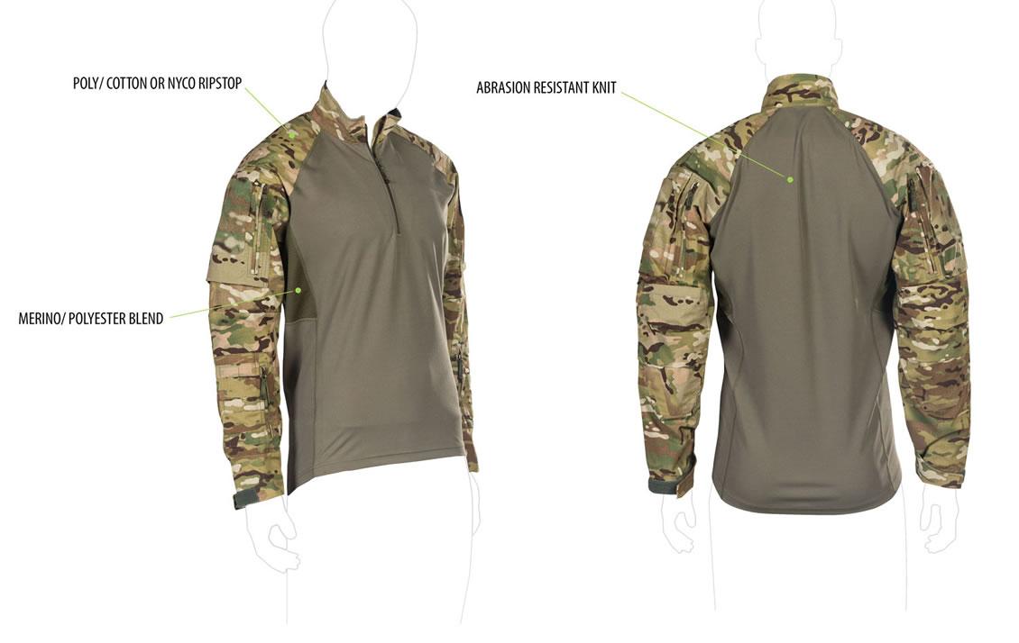 Materialmix der taktischen Combat Shrits UFPro® Striker XT Gen.2