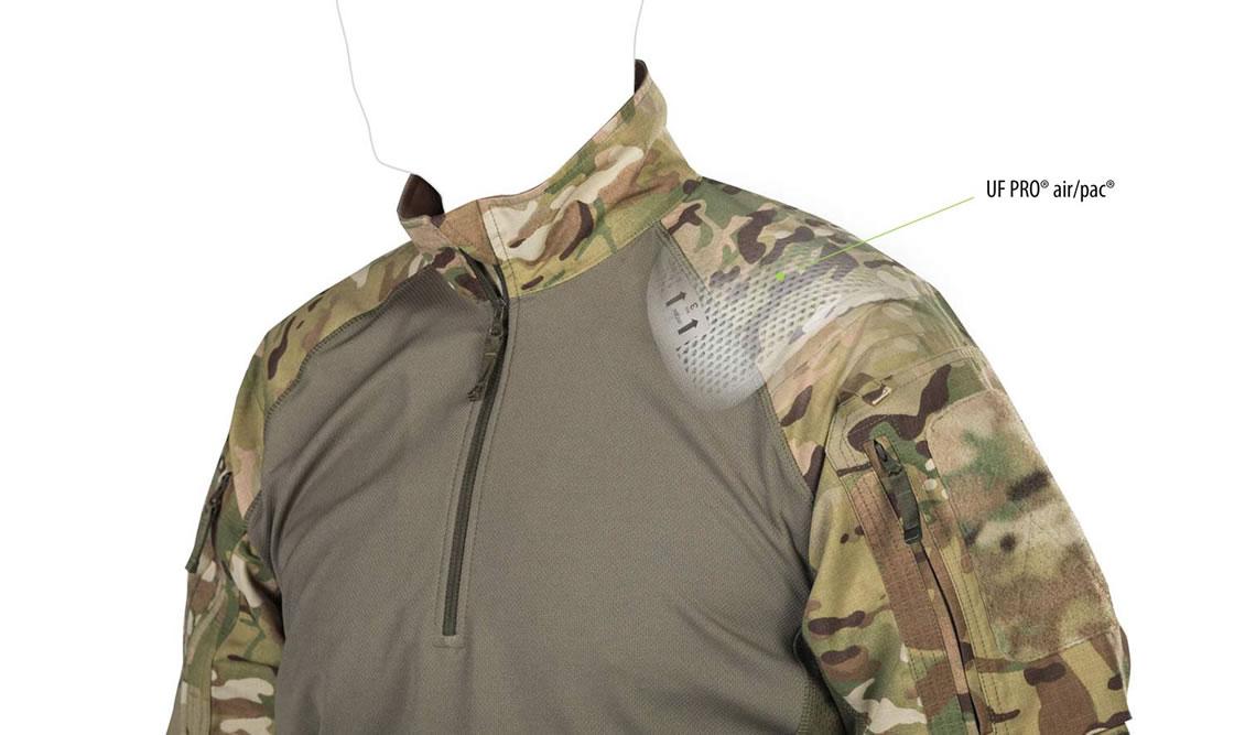 Die herausnehmbaren UF PRO® air/pac-Einschübe der taktischen Combat Shrits UFPro® Striker XT Gen.2