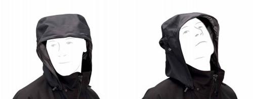 Mit UF PRO® Hood/Harness