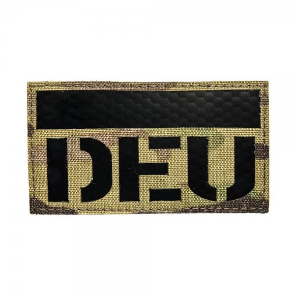 Infrarot Patch / IR Abzeichen DEU MultiCam 90x50 mm