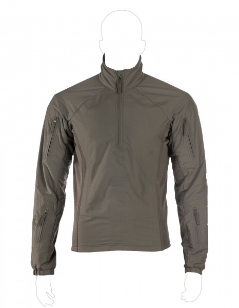 UF PRO® Hunter Sweater Steingrau / Oliv