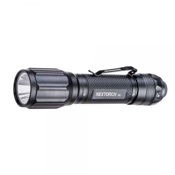 Nextorch E6 EDC LED Taschenlampe mit 900 Lumen und inklusive USB-ladbaren 18650 Akku