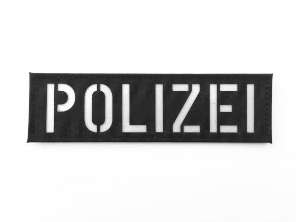 Patch mit Schriftzug POLIZEI