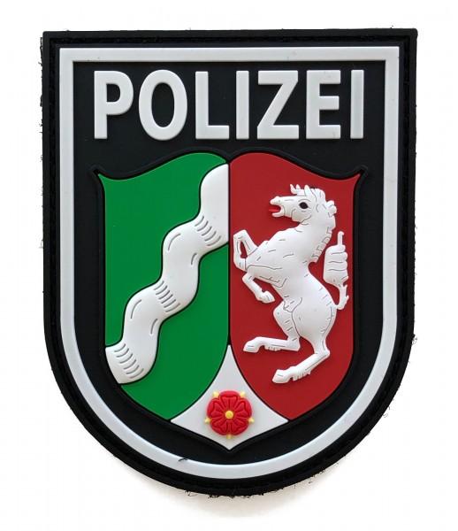 Black Defence Polizei NRW Patch Vollfarbe