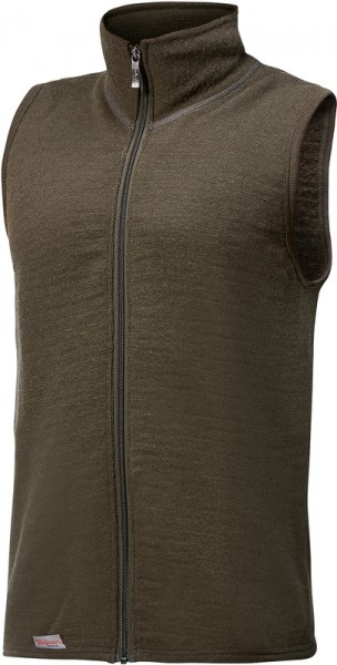 Woolpower Vest 400 Pine Green