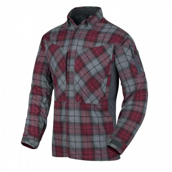 Helikon-Tex MBDU Flannel Shirt Ruby Plaid