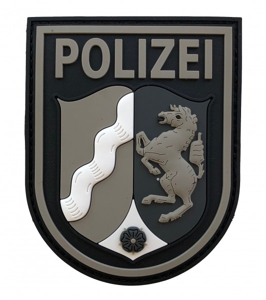 Black Defence Polizei NRW Patch Black Ops