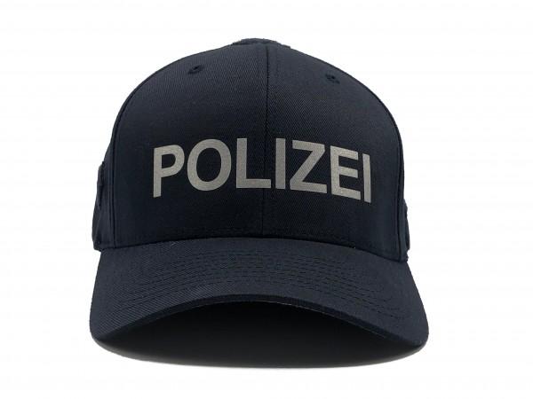 """Professionelle Einsatzmütze mit Reflektor-Schriftzug """"POLIZEI"""""""