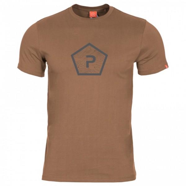 Pentagon Shape T-Shirt Coyote