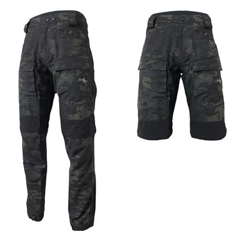 GAMSBOKK Mountain High ZIPPOFF Hose Multicam Black