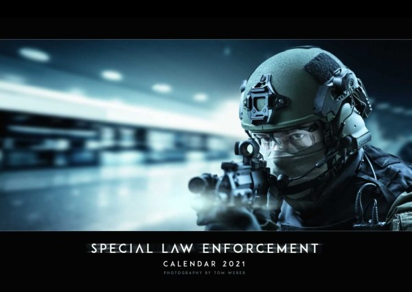 Special Law Enforcement Wandkalender 2021 - Titel
