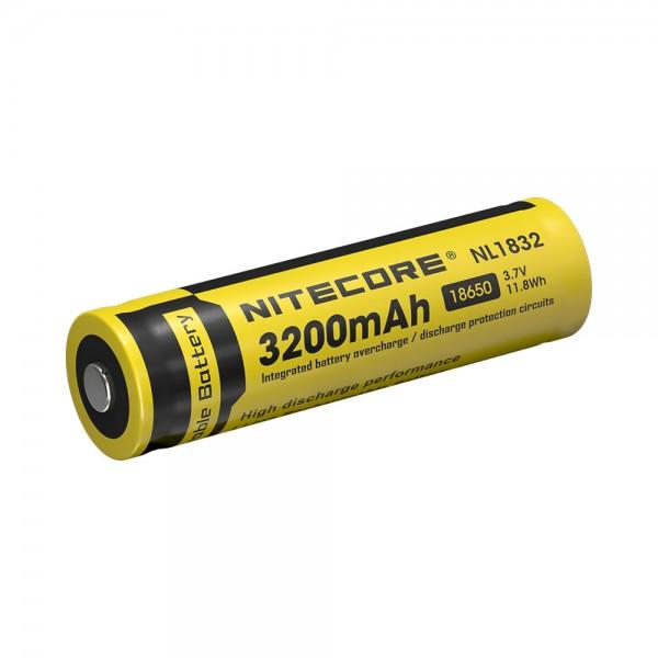 NiteCore Li-Ion Akku Typ 18650 - 3200mAh - NL1832