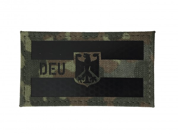 IR Hoheitsflaggen-Patch Deutschland