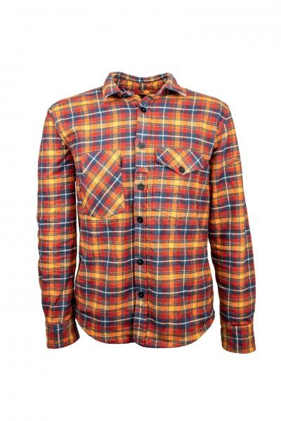 LMSGear Flannel Shirt Inferno Red