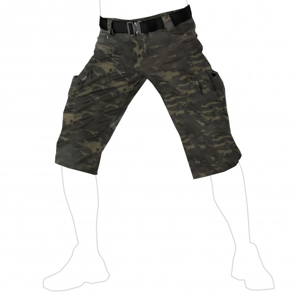 UF PRO® P-40 Tactical Shorts Multicam Black
