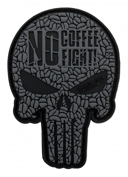 Black Ops Coffee Punisher Patch
