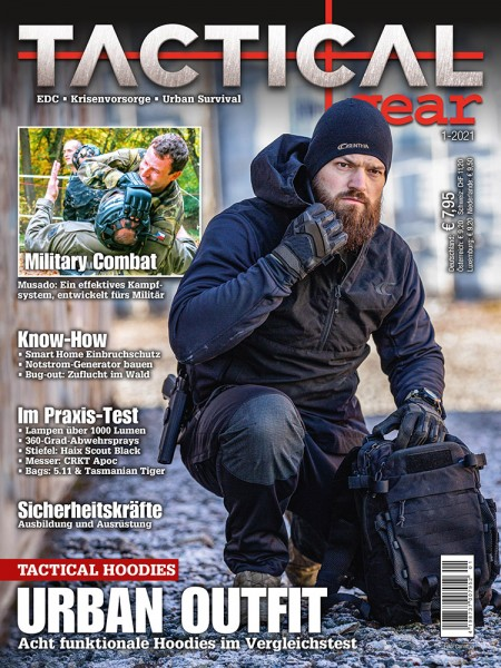 TACTICAL GEAR Ausgabe 1-2021