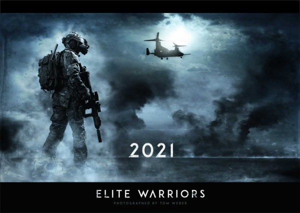 Elite Warriors Wandkalender 2021 - Titel