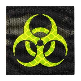 Avustaja Biohazard Patch Multicam Black