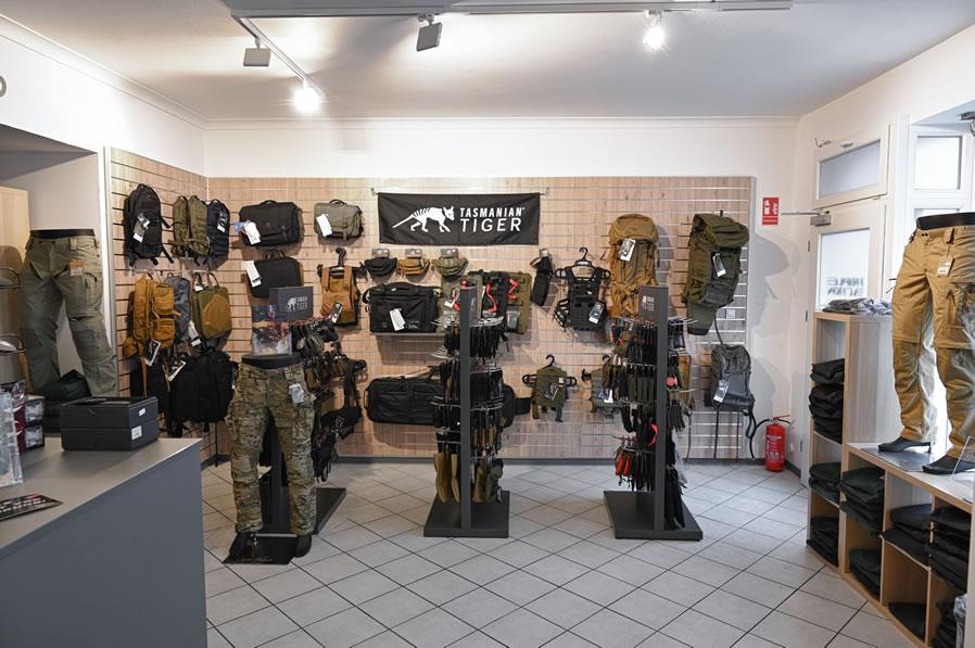 Shop für Tactical Gear, Polizei, Outdoor und Sport