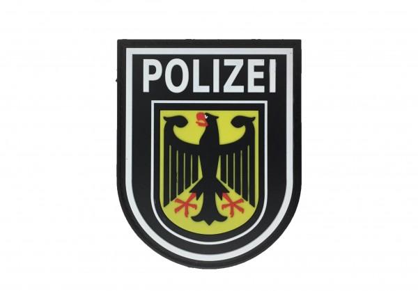 JTG / SPAEHER® / Bundespolizei Ärmelabzeichen farbig mit Klettrückseite