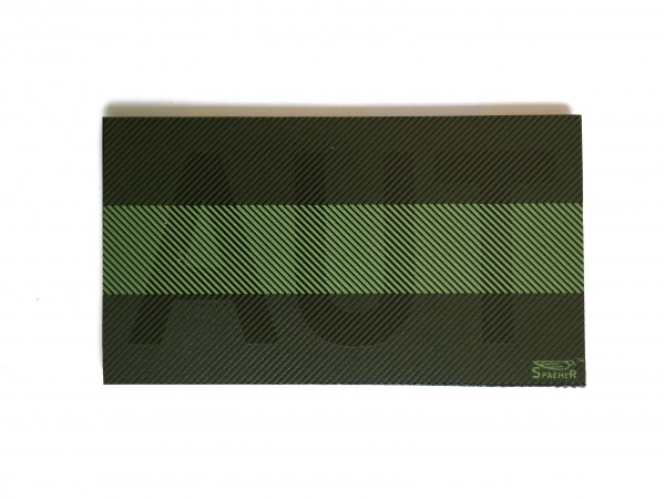 Infrarot Patch / IR Abzeichen AUT Subbed Green 90x50 mm