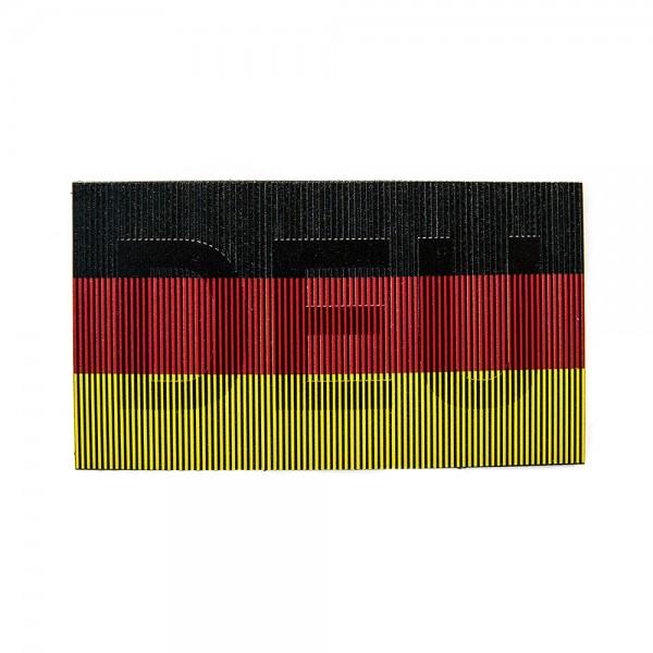 Infrarot Patch / IR Abzeichen DEU Vollfarbe 90x50 mm