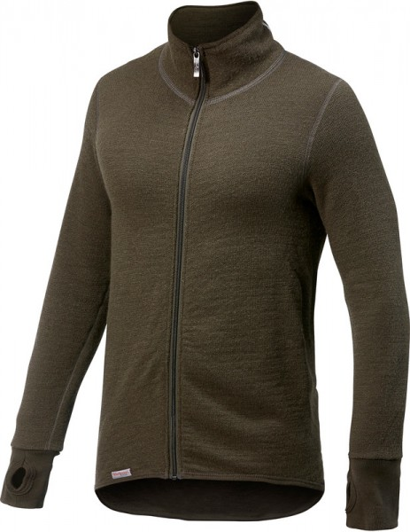 Woolpower Full Zip Jacket 400 Pine Green