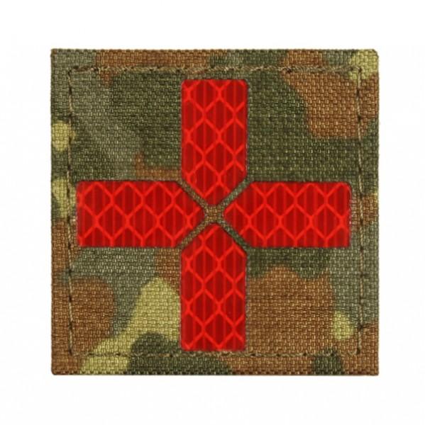 AVUSTAJA Medic Patch - 5 Farb Flecktarn