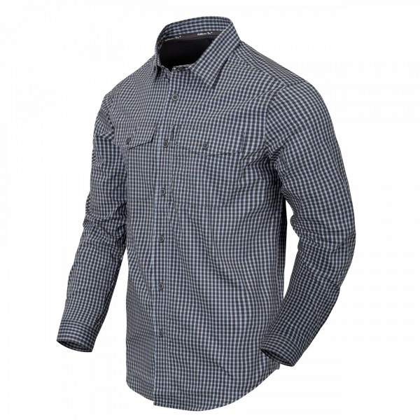 Helikon-Tex Covert Concealed Carry Shirt Phantom Grey Checkered