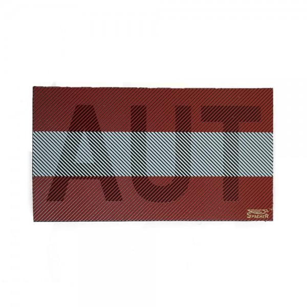Infrarot Patch / IR Abzeichen AUT Vollfarbe 90x50 mm