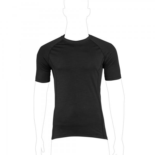 UF PRO® Merino Shirt Kurzarm Schwarz